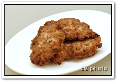 Pan-fried Pork Patties with Salted Fish | Craftie Cookie